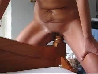 Apologise, humping her bedpost pussy variant