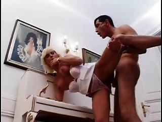 Boy Fucks Hot  Blonde Woman