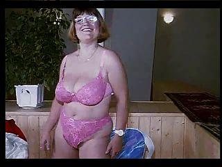 German Granny Strip
