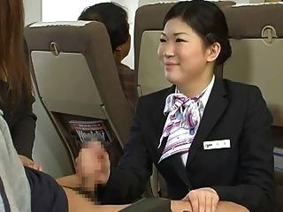 Japanese Flight Attendant Porn - Stewardess Porn Videos at Anybunny.com