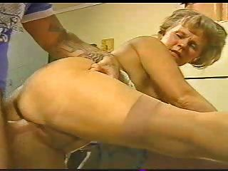 Horny Granny Mmf With Young Studs