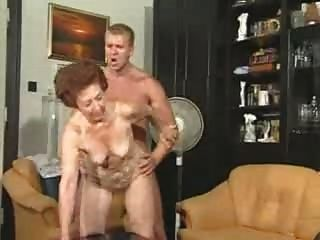 Granny shirley meets greets and rides her luvrman again - 3 part 9