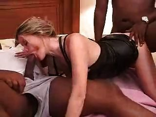 Amateur Ellis First Interracial Cream Pie Gangbang