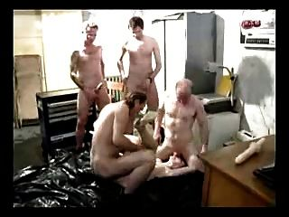 German Slut Punished With Harsh Gangbang Treatment Part 3