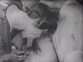 Retro Group Fuck Jerk Off
