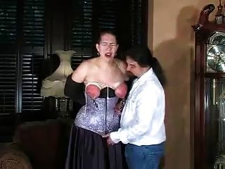 Tortured, Bound And Spanked Tits