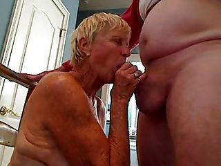 Grandma 70 Y.o Blowjob