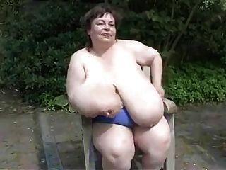 Bbw Granny With Massive Saggy Tits