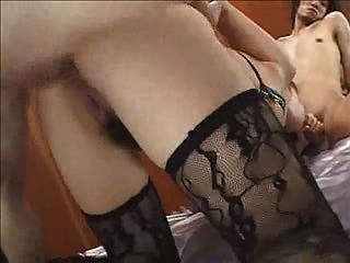 Busty Asian Fucked Hard In The Ass