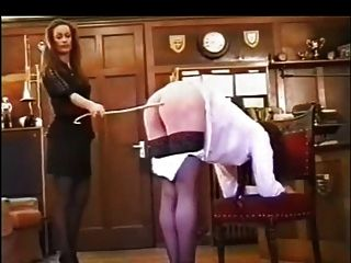 Ff Brunette Caning