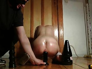 Amateur Couple With Anal Toys