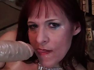 Dirty Milf With Huge Dildo
