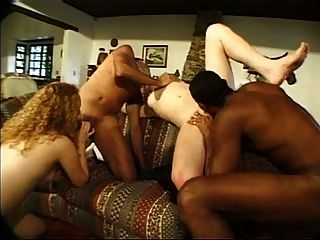 Bisex Interracial Orgy