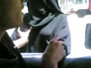 Pakistani Lady In Hijab Niqab Boobs Pressed For Money