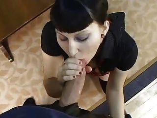 Goth Chick Gets Drilled