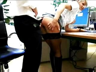 Blonde Fuck Her Boss