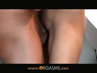Orgasms - Supermodel Has Sex In Shower
