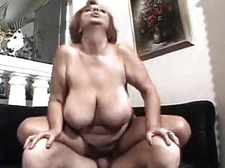 Busty Granny Luvs Cock