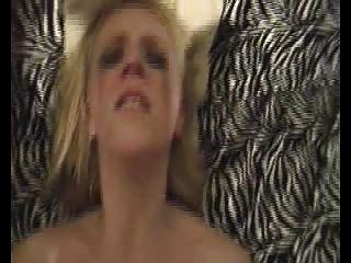 French Blond Fuck Hard Anal