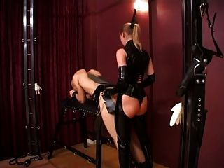Lady Stella And Silvia Fucking Slaves