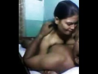 Amateur Indian Uncle With His Gf -1