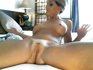 Hottest Milf Ever Rides Dildo On Cam