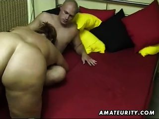 Chubby Amateur Wife Sucks And Fucks At Home