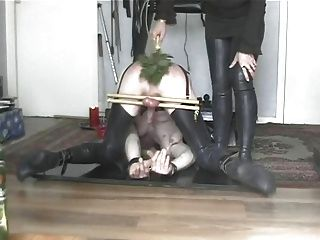 A Bound Girl Is Waxed And Whipped Video