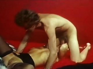 John Holmes With Blonde Hot Girl - Big Cock
