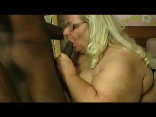 Grandma Loves A Big Black Dick