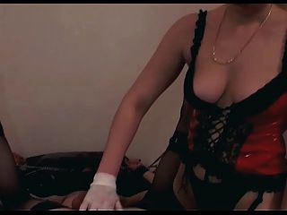 Domina Fucks Her Slave With Strapon And Fist