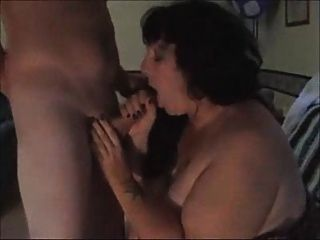 Fat Wife Sucking Off Stranger