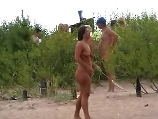 Nude Beach Play