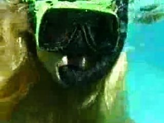 Sex Under Water - French Couple Fuck