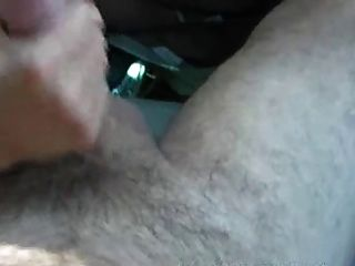 Handjob While Cardriving, With Huge Cumblasts