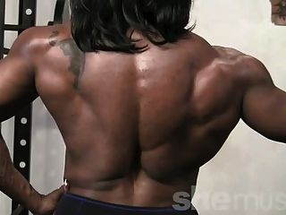 Ebony Female Muscle