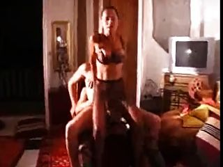 Amateur - Bi Mmf Threesome - Two Wearing Lingerie