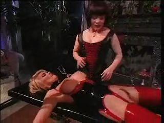 Lesbian Group Electro Stimulation