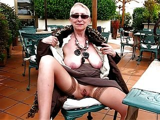 10 whoring grannies fucked in public park - 4 9