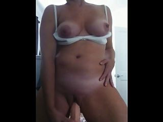 Mature Dee Self Taped Masturbation
