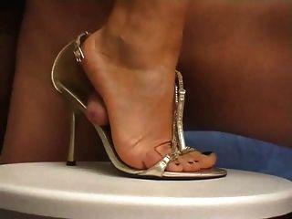 Scholl sandal masturbate
