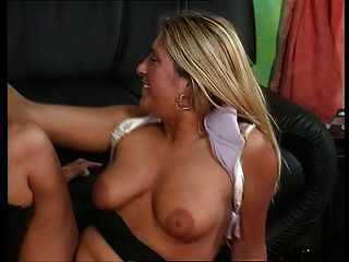 German Blonde Anal Slut