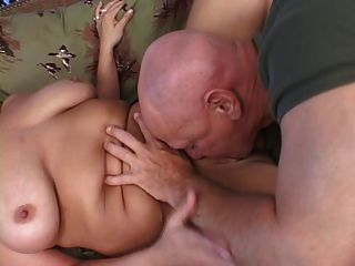 Blonde Bbw Gets Fucked And Tits Covered In Cum
