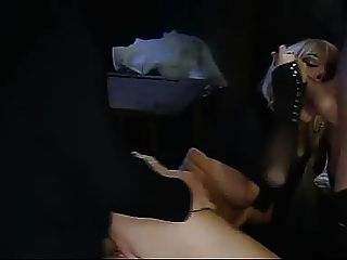 Aria destroys his cock then squirts on his face - 5 2