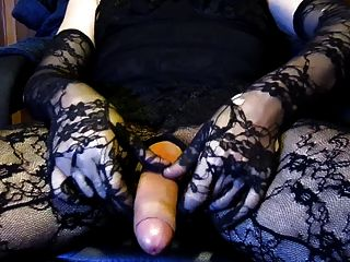 Cumshot In Catsuit & Babydoll