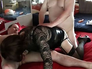 A Sexy Threesome With Two Lovely Guys - 2