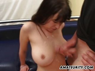 Very Busty Amateur Gf Gangbang With Huge Facials