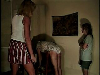 Sissy Spanked In His Panties By Mommy