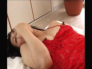 Long Nipples Japanese Gets Stimulated