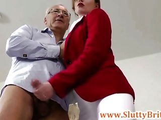 Young British Equestrian Fucked By An Old Sir